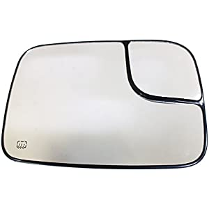Dorman 56277 Passenger Side Heated Plastic Backed Mirror Glass
