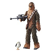 Star Wars: The Last Jedi Chewbacca con Porg Force Link Figura 3.75 pulgadas