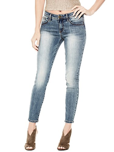 GUESS Factory Women's Beyla Curvy Mid-Rise Skinny - Guess Designer Clothing