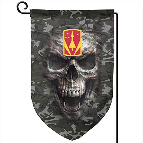 SOMUCHJRFLAG 31st Air Defense Artillery Brigade Garden Flags Holiday Outdoor Yard Flags 18 X 12 Inch Printed On Both Sides