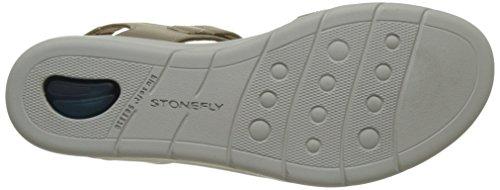 Stonefly Aqua Iii 2, Sandalias con Cuña para Mujer Gris (Taupe 423)