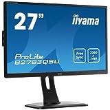 "iiyama B2783QSU-B1 Ecran PC LED  27"" (2560x1440, 16:9, 1ms)"