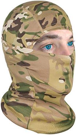 Achiou Balaclava Face Mask UV Protection for Men Women Sun Hood Tactical ski 1