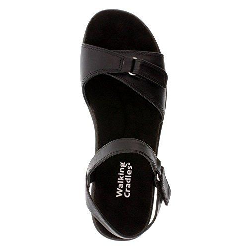 Sandal Cradles Walking Sky 3 Women's Wedge Black qUw6xwX