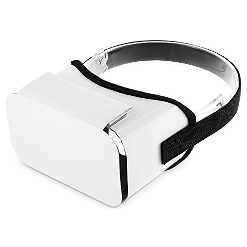 Muicatte iBlue DIY Cardboard 3D VR Virtual Reality Glasses with Headband for 4.7-5.5 inches Smartphones