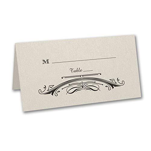 950pk Elegant Deco - Place Card-Place Cards