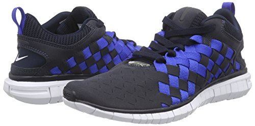 Nike Nike 401 Ryl Free Hommes Og drk Basses Woven Nvy mid Bleu Sneakers Blau white gm '14 Obsdn aaxAZrw