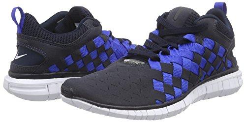 Blau Blau Bleu Nike 401 401 401 gm Free Nvy Ryl drk Obsdn Hommes Sneakers Og '14 mid white Basses Woven qAw4HSq