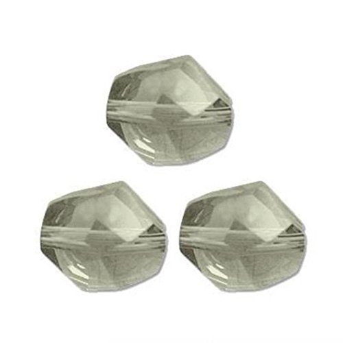 3 Crystal Golden Shadow Cosmic Swarovski Beads 12mm New