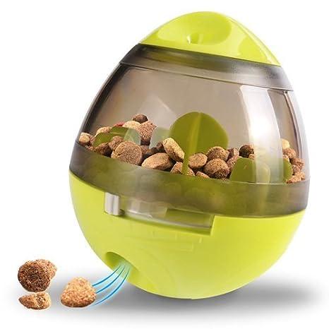 Bola de comida para mascotas, vaso interactivo para perros, juguetes, dispensador de alimentos