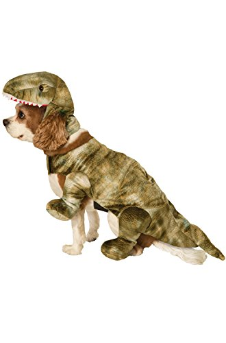 Forum Novelties Unisex-Adults Pet Costume-Dinosaur, Gray, (Dinosaur Dog Costume)