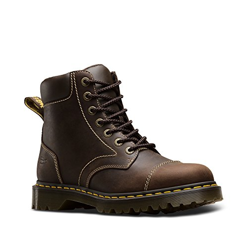 Dr. Martens Men's Ranch NS 7 Eye Boots, Brown, 7 M UK, 8 M (Brown Ranch)
