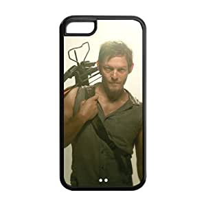 The Walking Dead Daryl Dixon ipod touch 4 touch 4 Case Personalized Durable Printed Back TPU Case for ipod touch 4 touch 4