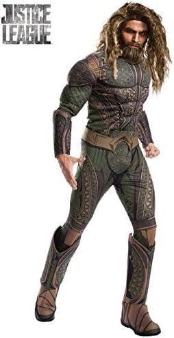 DISBACANAL Disfraz Aquaman JL Movie Deluxe para Hombre - -, L ...