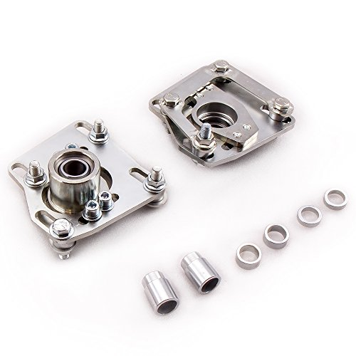 Adjustable Camber Plates - Camber Caster Plates for Ford Mustang SVT V6 V8 GT 94-04 Camber Top Mount Alignment Adjustable 2PCS