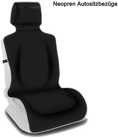 2 Negro Alta Calidad Delantero Protectores De Cubiertas de Asiento de Coche Para Seat Alhambra