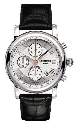 Mont Blanc Mens Automatic Chronograph (Montblanc Chronograph GMT Automatic Mens Watch 36967)