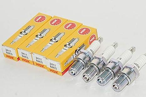 NGK Spark Plug B8ES NGK2411 x4