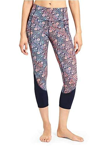 Athleta High Rise Tapestry Chaturanga Capri - Mulit (XXSmall)