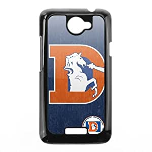 Denver Broncos Team Logo HTC One X Cell Phone Case Black SVD_565908