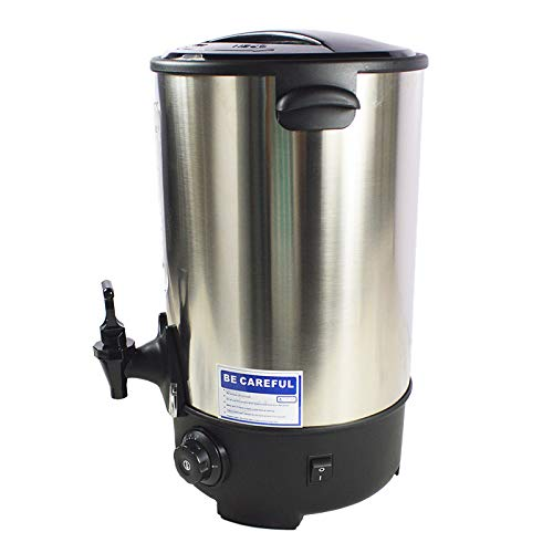 TECHTONGDA Hot Water Dispenser Boil Machine Heater Warmer Kettle 304 Stainless Steel (30L)