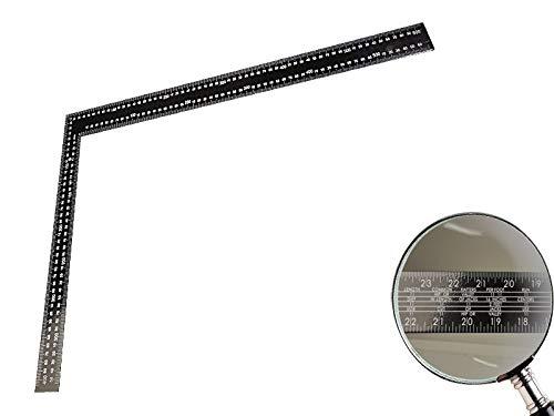 /Ángulo de carpintero 90//° de acero 600/mm x 400/mm con 030101671/y z/ölliger Escala