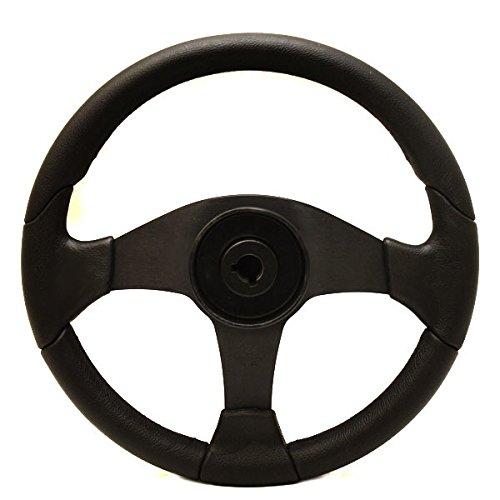 Uflex Boat Steering Wheel Gorgona-R / B | 14 5/8 Inch Red / Black