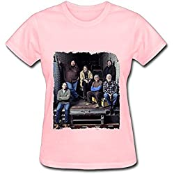 Pink T Shirt For Women Blues Rock Widespread Panic Tour 2016 Poster