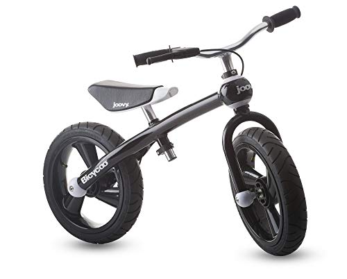 Bike Training Wooden - Joovy Bicycoo Balance Bike, Black
