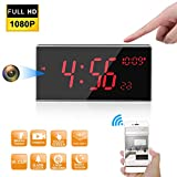 Hidden Camera -Spy Camera -WiFi Spy Camera - FHD 1080P Clock Camera More Than 33FT Night Vision with IR-Cut Support...