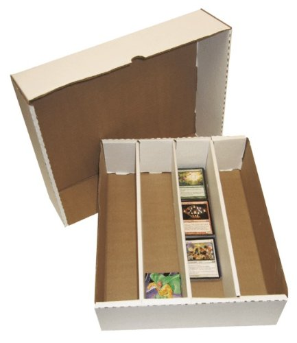 (25) BCW Brand Trading Card Cardboard Monster Storage Box with Full Lid - 3200 Card Capacity- BCW-3200 by BCW