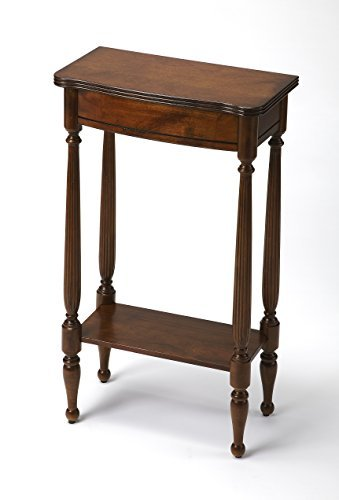 Butler Console Table in Antique Cherry
