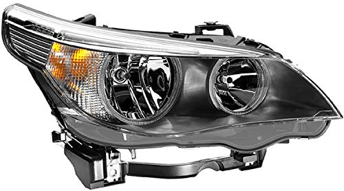 HELLA 008673121 BMW 5 Series E60/E61 Passenger Side Headlight Assembly