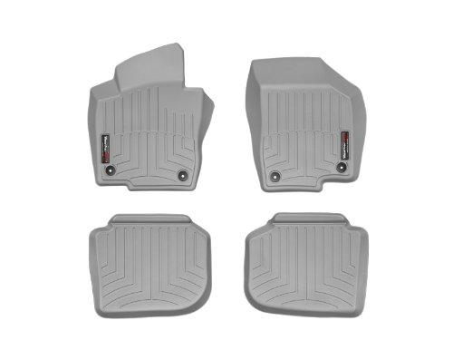 WeatherTech First and Second Row FloorLiner (Grey) ()