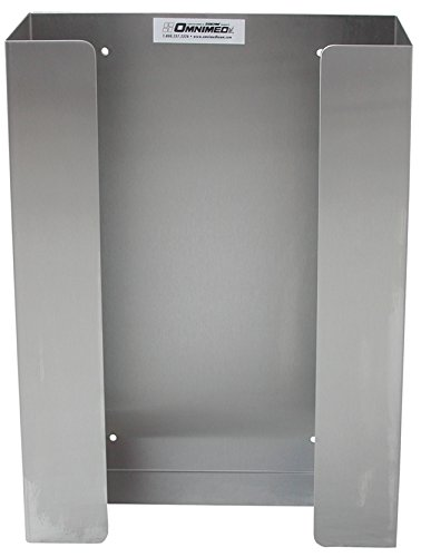 Omnimed 305302 Glove Box Holder, 2 Per Pack, Stainless Steel, Triple