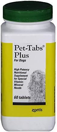 Zoetis Pet Tabs Plus 60Ct