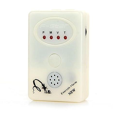 LED Alarma de Detector Sensor Pipì Cama Noche Nuevo Blanco: Amazon.es: Hogar