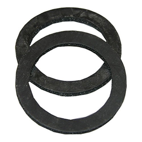 LASCO 02-2053 Rubber 1-1/2- Inch Cloth Inserted Tailpiece Washers