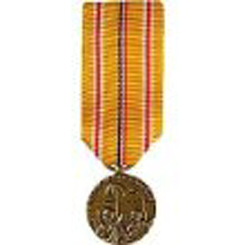 United States Military Armed Forces Mini Medal - Asiatic Pacific Campaign ()