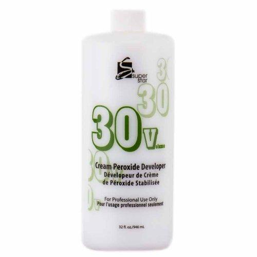 SUPER STAR Stabilized Cream Peroxide Developer 30V HC-50303