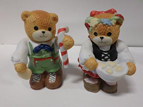 Lucy & Me Series (Enesco) **Bears Dressed as Hansel & Gretel Figurines, Set of 2** 107509