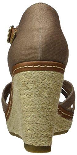 TOM TAILOR 2790813 - Tira de tobillo Mujer Braun (Mud)