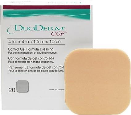 DUODERM CGF EXTRATHIN STERILE DRESSING 2� x 4� 20EACH//BOX..