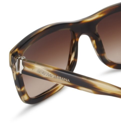 Brown Brown Matte Plastic Lens Mens Striped amp; 4161 Dolce Gradient Frame Sunglasses Gabbana x8AwAa