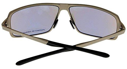 9bcad0086889 Porsche Design Sunglasses Sand Matte Titanium Mens P8495 C ...