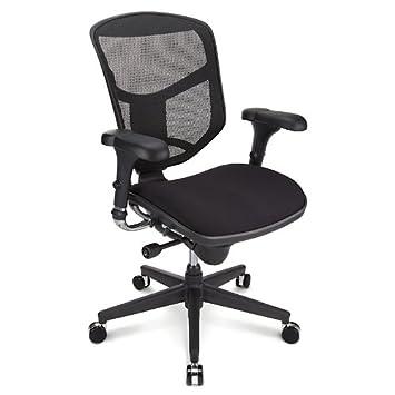 black fabric plastic mesh ergonomic office. WorkPro Quantum 9000 Series Ergonomic Mid-Back Mesh/Fabric Chair, Black Fabric Plastic Mesh Office H