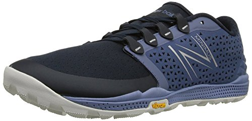 New Balance Mens 10v4 Trail Shoe, Gris/Negro, 41.5 EU/7.5 UK