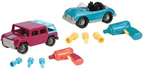 Battat Take-A-Part 4x4 & Roadster Exclusive Combo Pack