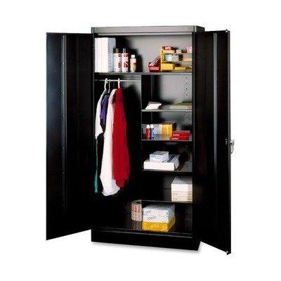 TNN7214BK - Tennsco Combination Wardrobe/Storage Cabinet