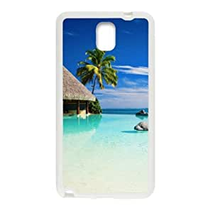 super shining day Discount Tropical Resort Hard Plastic Snap on Case Cover for Samsung Galaxy Note 3 N9000